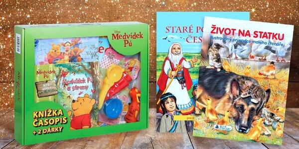 Krásně ilustrované knížky pro malé čtenáře