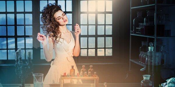 Namíchejte si vlastní vůni v Zámecké parfumerii
