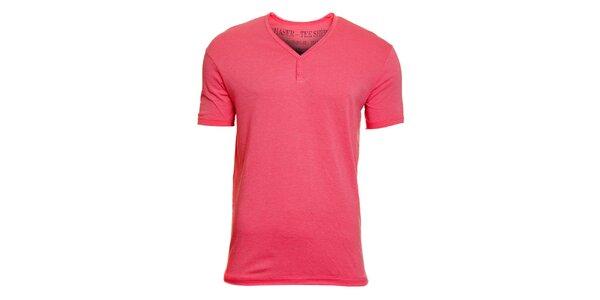 Pánské růžové tričko Chaser