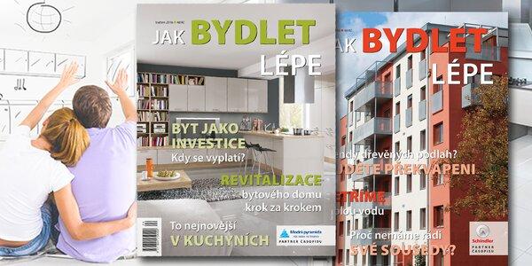 Předplatné časopisu Jak bydlet lépe na rok 2017