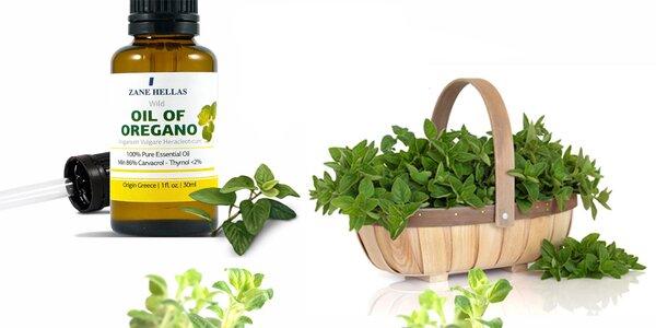 BIO Řecký Oreganový olej, 86% Carvacrol (30 ml)