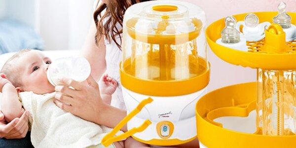 Pomocník pro maminky: Parní sterilizátor Beurer
