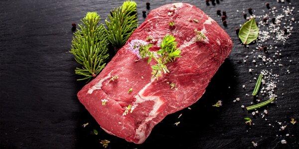 Srnčí nebo kančí maso na řízky