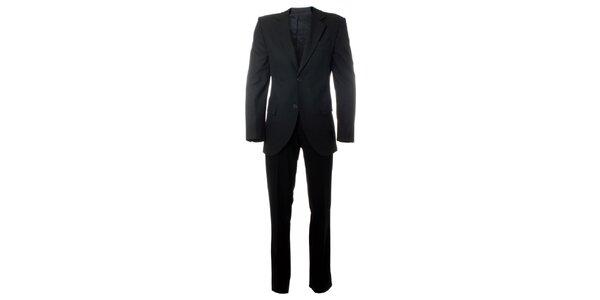 Pánský antracitový oblek Caramelo