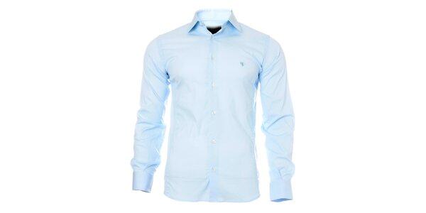 Pánská světle modrá košile Caramelo