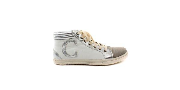 Pánské krémovo-béžové boty Caramelo