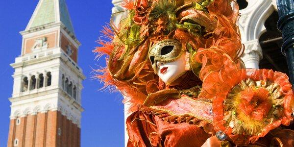 Výlet na karneval do Benátek i do kraje vína