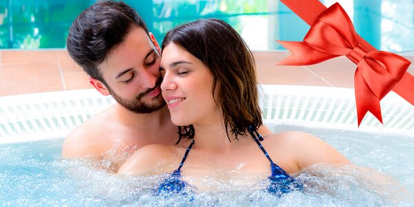 Privátní vířivka a sauny pro dva v BBB lázních