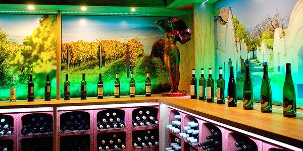 Degustace moravských vín a sektů