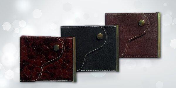 Ručně zpracovaná pánská peněženka z hovězí kůže