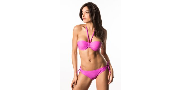 Dámské fialové bikini s korálky Lili & Zoe