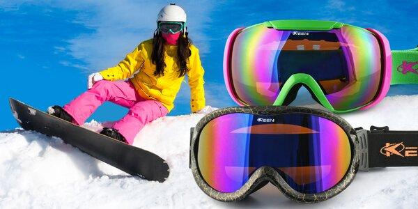 Lyžařské a snowboardové brýle s nemlživými skly
