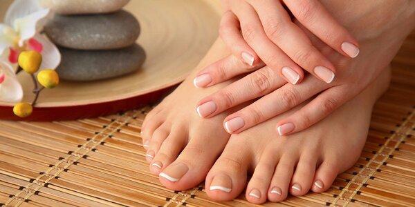 Kompletní Spa péče o vaše ruce nebo nohy