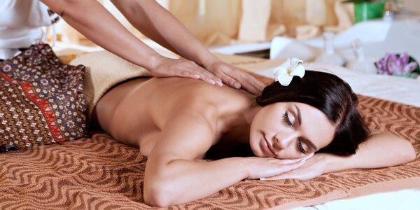 Naprosté uvolnění: thajská masáž dle výběru