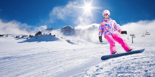 Rakouské středisko Hinterstoder: 1denní lyžování