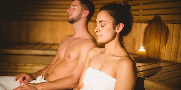 Relax v privátní sauně pro dvě osoby