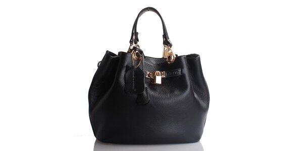 Dámská černá kabelka Belle & Bloom s odepínacími uchy