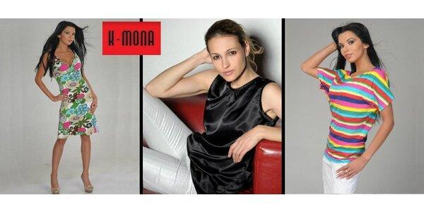 199 Kč za voucher na jakékoli dámské oblečení v K-Mona Zlín