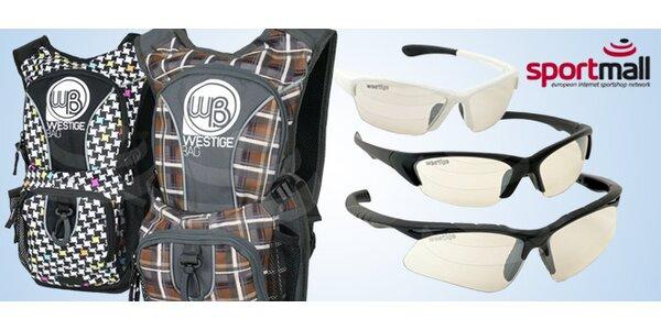 Brýle a batohy značky Westige
