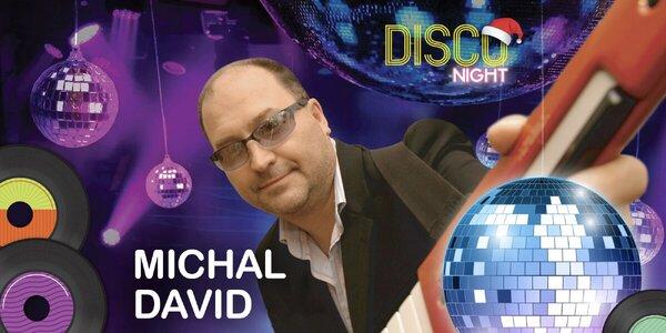 Charitativní retro diskotéka s Michalem Davidem