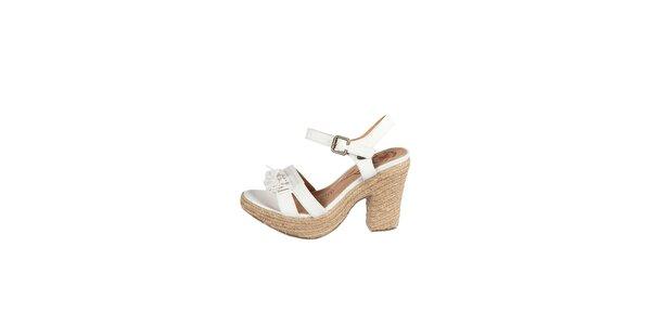 Dámské bílé sandály Drastik
