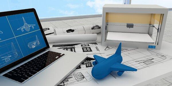 3hodinový kurz Vstup do světa 3D tisku