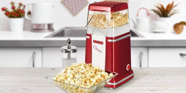 Pohoštění na každou párty - popcornovač Unold