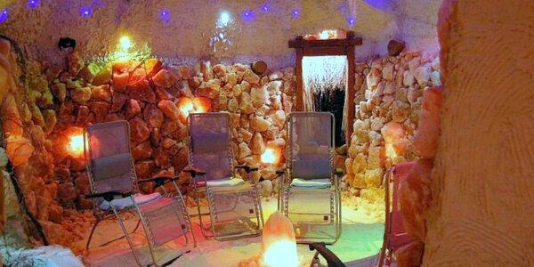 Permanentka na 12 vstupů do solné jeskyně Náchod