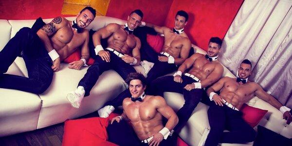 Pánské striptýzové vystoupení: Dream Men Show