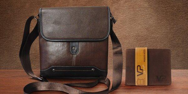 Set pro pány: Taška a kožená peněženka