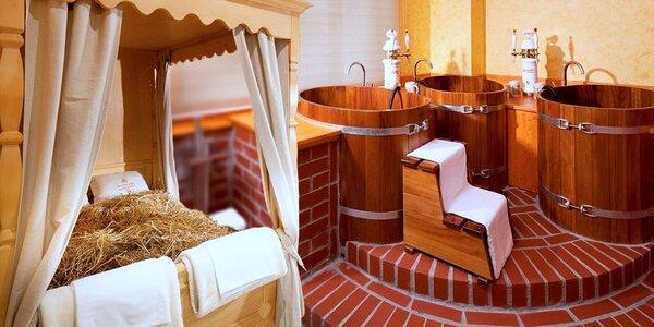 Relax jen pro vás dva: Wellness a pivní koupel