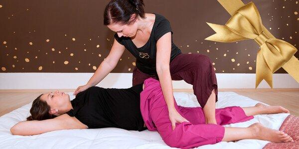 Uvolňující bezbolestná thajská masáž v Brně