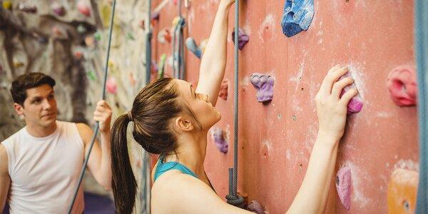 3 vstupy na lezeckou stěnu včetně vybavení