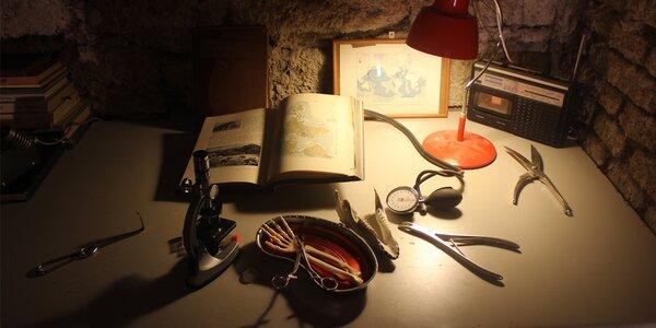 Napínavá úniková hra - Laboratoř Dr. Moreaua
