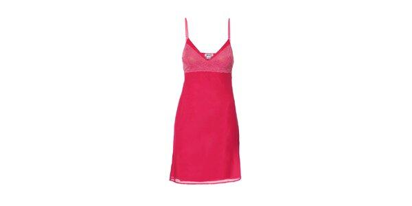 Luxusní košilka značky DKNY ve fuchsiové barvě
