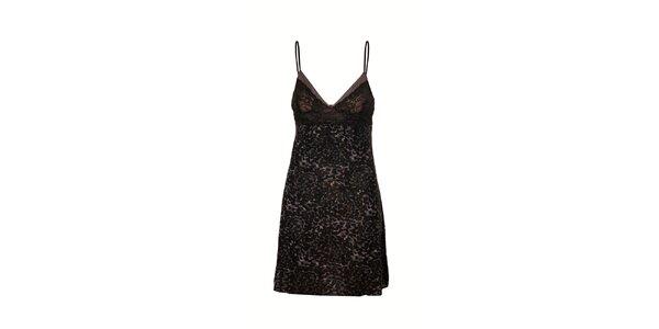 Luxusní košilka značky DKNY v černé barvě