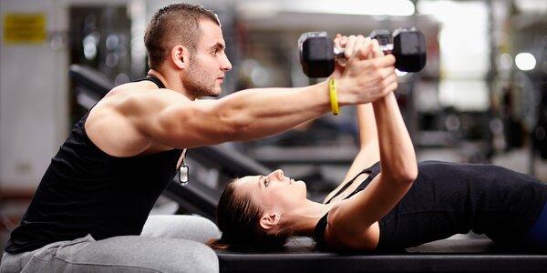 Fitness trénink s vedením osobního trenéra