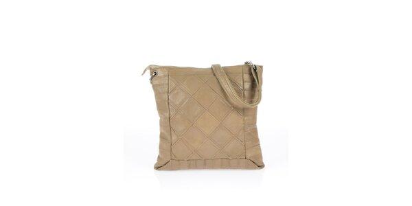 Dámská černá kabelka s čtvercovým vzorem Marina Galanti