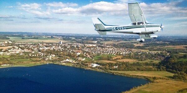 Hodinový let nad Ostravou a Lysou horou