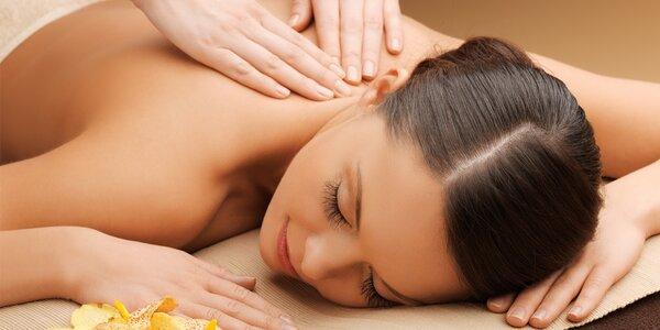 Harmonizační jantarová masáž celého těla