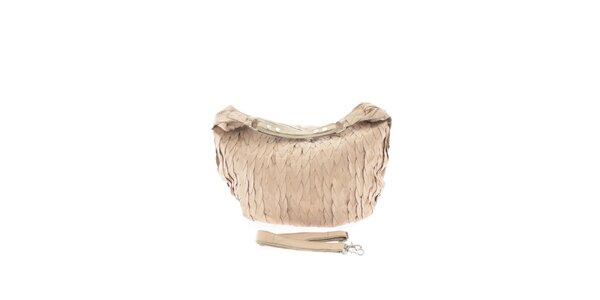 Dámská kožená béžová kabelka Marina Galanti