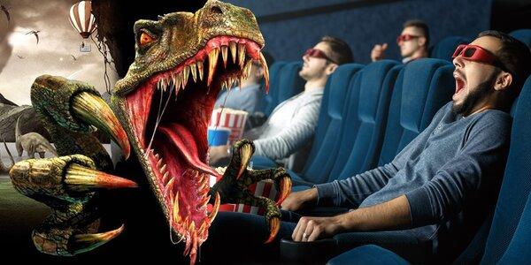10 nebo 15 vstupů do unikátního 12D kina na filmy dle výběru