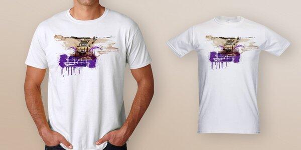 Pánské triko pro Klokánky od Dana Přibáně