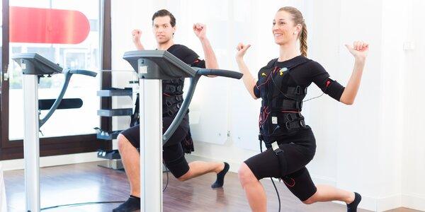 Efektivní EMS trénink s osobním trenérem