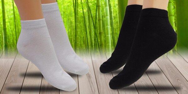 12 párů pánských ponožek s bambusovým vláknem