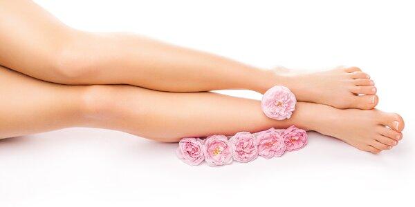 Relaxační Spa pedikúra s růžovým olejem