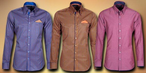 Pánské vzorované košile Styleover