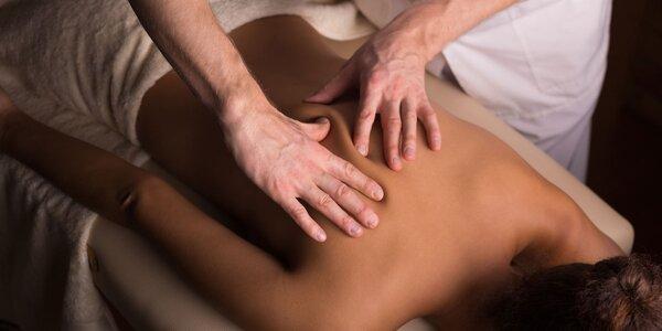 Klasická zdravotní masáž pro bolavá záda