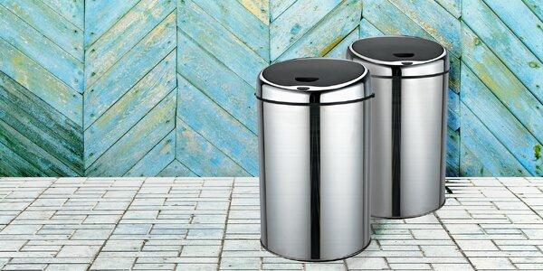 Bezdotykový odpadkový koš o objemu 11 L