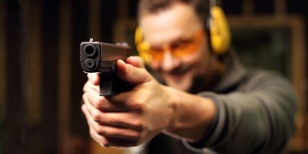 Střelba z nadupaných zbraní pod vedením profíka